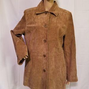 Bernardo Nordstrom leather jacket Womens large